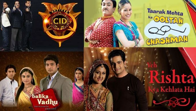 trp of indian serials