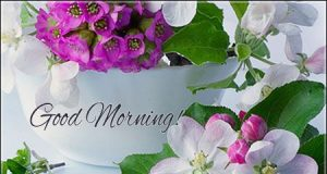good morning images for someone special