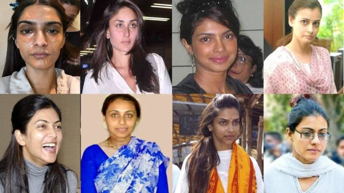 heroines without makeup pics