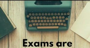whatsapp status related to exams